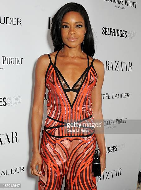 Naomie Harris arrives at the Harper's Bazaar Women of the Year awards at Claridge's Hotel on November 5 2013 in London England
