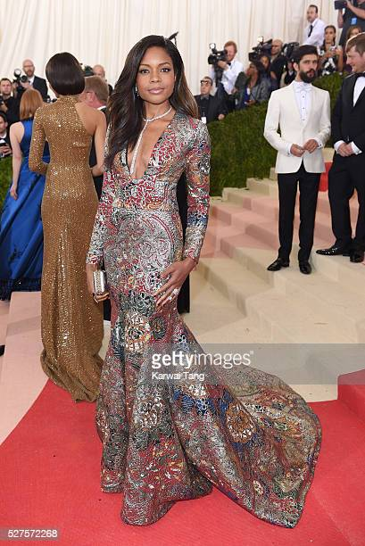 Naomie Harris arrives for the 'Manus x Machina Fashion In An Age Of Technology' Costume Institute Gala at Metropolitan Museum of Art on May 2 2016 in...