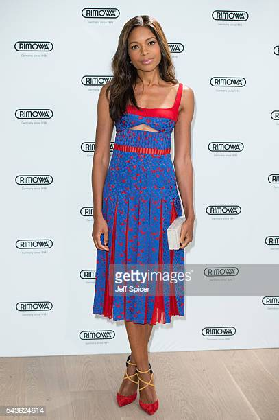 Naomie Harris arrives for the RIMOWA store opening on June 29 2016 in London England