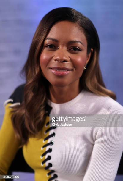 Naomie Harris as she joins BUILD for a live interview at their London studio at AOL London on February 13 2017 in London England