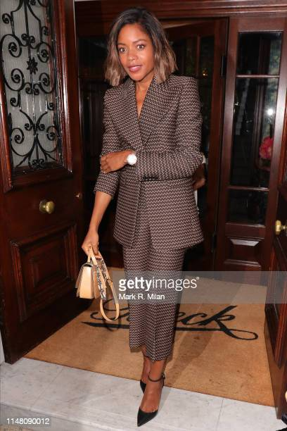 Naomie Harris attending a private dinner hosted by Michael Kors at Browns Hotel Mayfair on May 09 2019 in London England