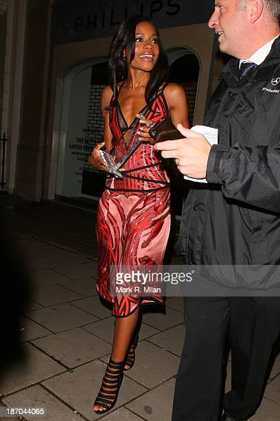 Naomie Harris attending the Harper's Bazaar Women of the Year Awards on November 5 2013 in London England