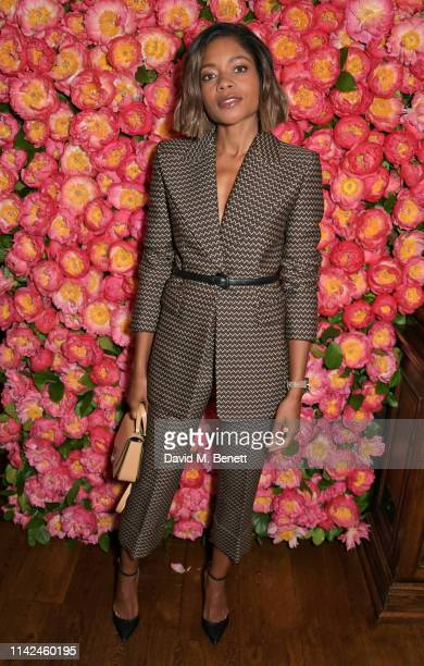 Naomie Harris attends a private dinner hosted by Michael Kors to celebrate the new Collection Bond St Flagship Townhouse opening on May 9 2019 in...