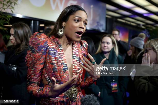 """Naomie Harris attends a special screening of Netflix """"Mowgli: Legenc Of The Jungle"""" at The Curzon Mayfair on December 4, 2018 in London, England."""