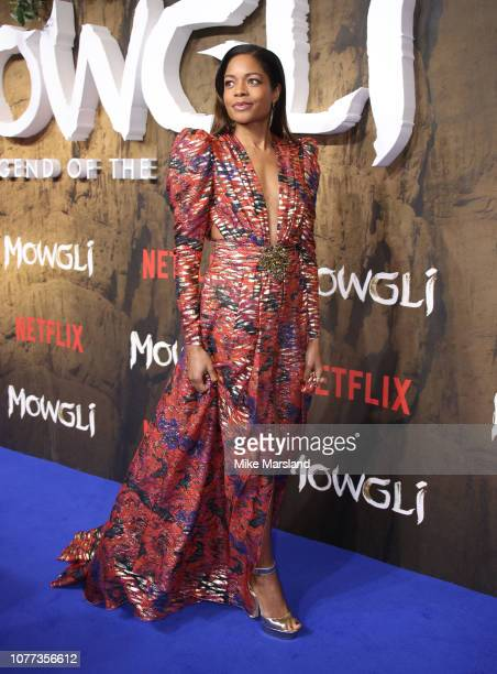 Naomie Harris attends a special screening of Netflix Mowgli Legenc Of The Jungle at The Curzon Mayfair on December 04 2018 in London England