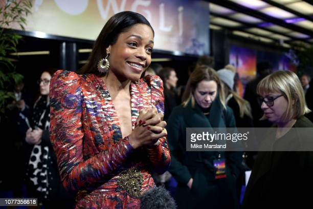"""Naomie Harris attends a special screening of Netflix """"Mowgli: Legenc Of The Jungle"""" at The Curzon Mayfair on December 04, 2018 in London, England."""