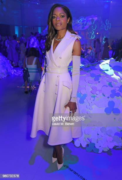 Naomie Harris attends as Tiffany Co celebrates the launch of the Tiffany Paper Flower collection at The Lindley Hall on June 21 2018 in London England