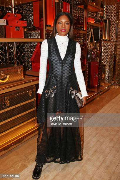 Naomie Harris attends Louis Vuittons Celebration of GingerNutz in Vogue's December Issue on November 21 2017 in London England