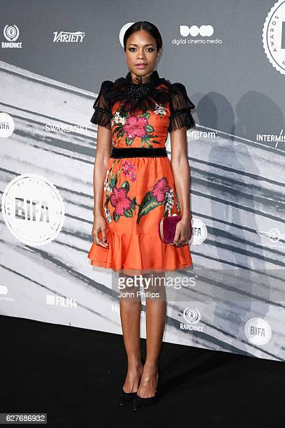 Naomie Harris attends The British Independent Film Awards at Old Billingsgate Market on December 4 2016 in London England