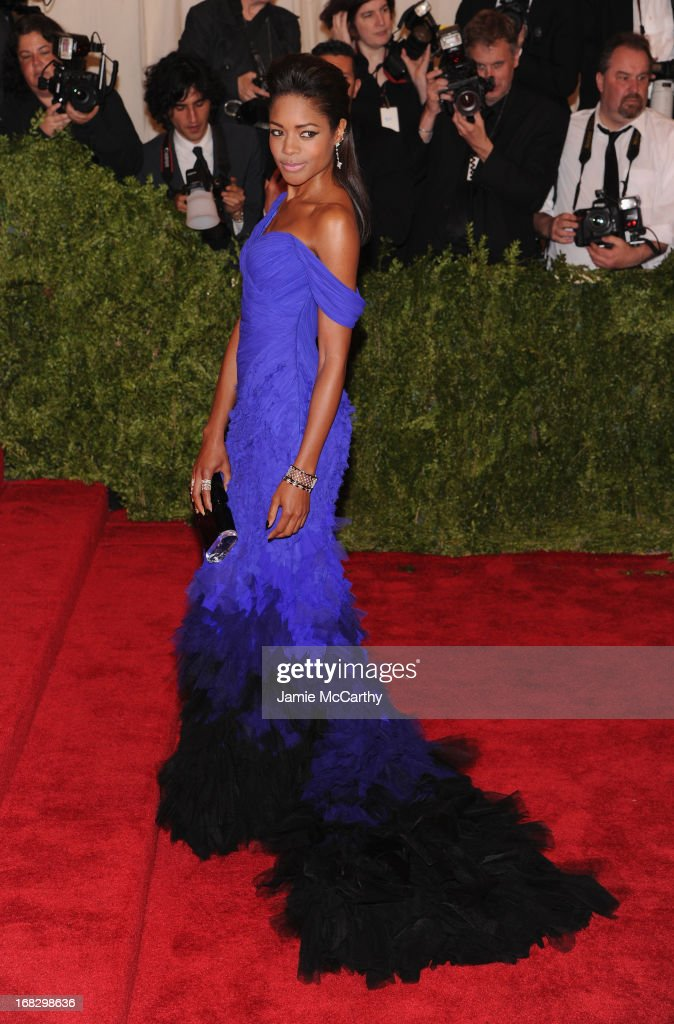 Naomie Harris attends the Costume Institute Gala for the 'PUNK: Chaos to Couture' exhibition at the Metropolitan Museum of Art on May 6, 2013 in New York City.