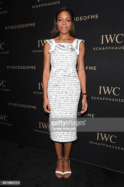Naomie Harris attends the Da Vinci Collection by IWC Schaffhausen launch on January 17 2017 in Geneva Switzerland