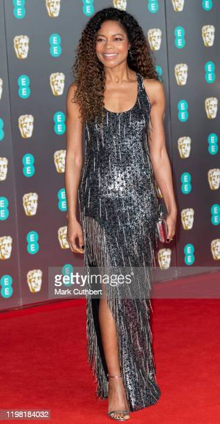 Naomie Harris attends the EE British Academy Film Awards 2020 at Royal Albert Hall on February 2, 2020 in London, England.