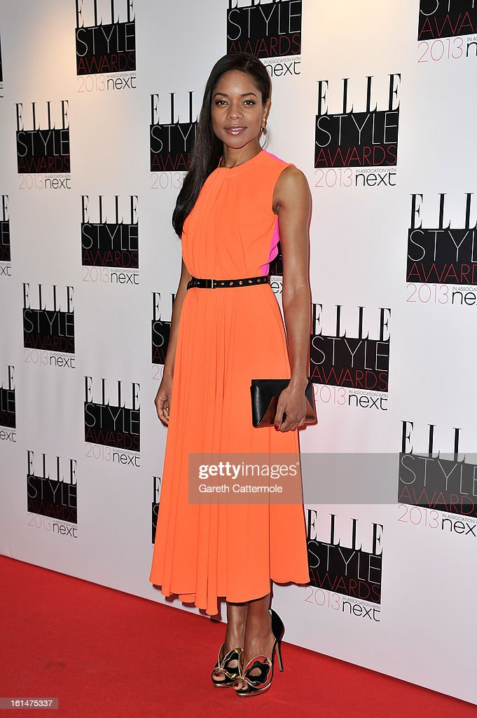 Naomie Harris attends the Elle Style Awards at The Savoy Hotel on February 11, 2013 in London, England.