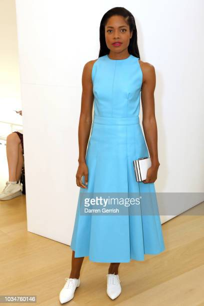 Naomie Harris attends the Emilia Wickstead show during London Fashion Week September 2018 on September 17 2018 in London England