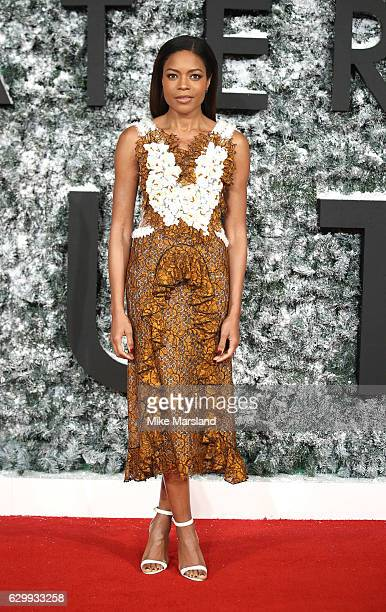 Naomie Harris attends the European Premiere of 'Collateral Beauty' at Vue Leicester Square on December 15 2016 in London England
