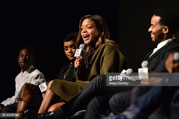 Naomie Harris attends the Film Independent at LACMA screening and QA of Moonlight at LACMA on October 13 2016 in Los Angeles California