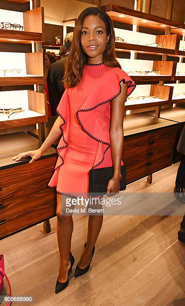 Naomie Harris attends the first Oliver Peoples boutique launch in Europe on September 14 2016 in London England