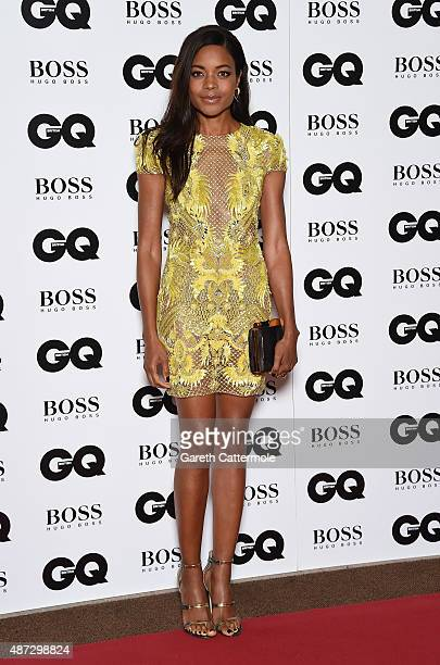 Naomie Harris attends the GQ Men Of The Year Awards at The Royal Opera House on September 8 2015 in London England