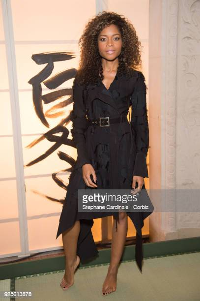 Naomie Harris attends the HM show as part of the Paris Fashion Week Womenswear Fall/Winter 2018/2019 on February 28 2018 in Paris France