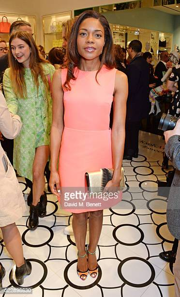 Naomie Harris attends the Kate Spade New York Regent Street store opening on April 21 2016 in London England