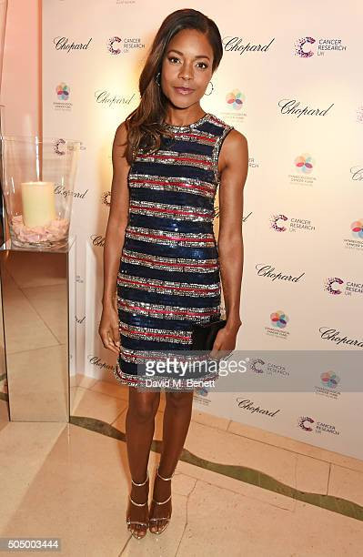 Naomie Harris attends The Lady Garden Gala hosted by Chopard in aid of Silent No More Gynaecological Cancer Fund and Cancer Research UK at Claridge's...