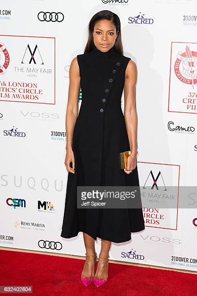 Naomie Harris attends The London Critic's Circle Film Awards at the May Fair Hotel on January 22 2017 in London United Kingdom