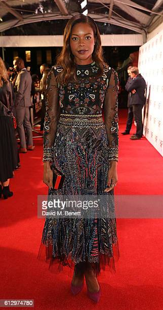Naomie Harris attends the 'Moonlight' Official Competition screening during the 60th BFI London Film Festival at Embankment Garden Cinema on October...