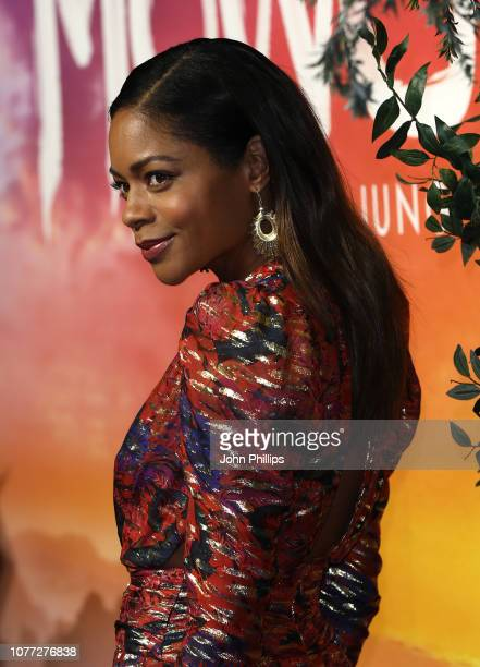 Naomie Harris attends the Mowgli Legend Of The Jungle Netflix special screening at the Curzon Mayfair on December 04 2018 in London England