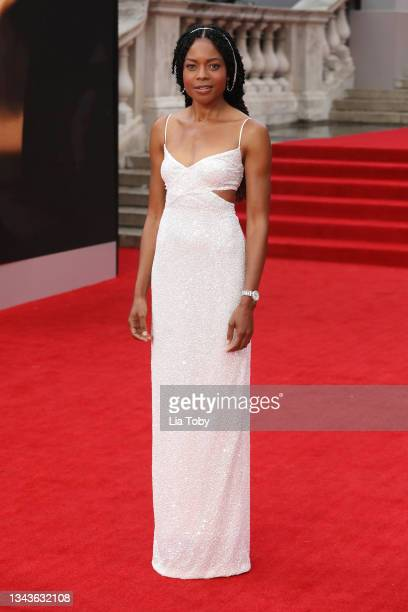 """Naomie Harris attends the """"No Time To Die"""" World Premiere at Royal Albert Hall on September 28, 2021 in London, England."""