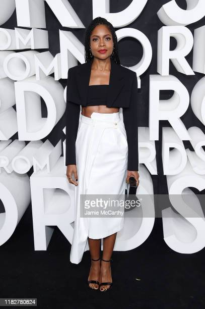 Naomie Harris attends the Nordstrom NYC Flagship Opening Party on October 22 2019 in New York City