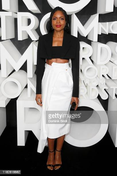 Naomie Harris attends the Nordstrom NYC Flagship Opening Party on on October 22, 2019 in New York City.