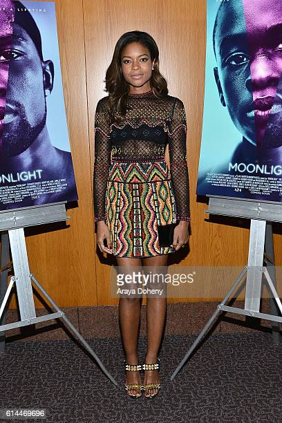 Naomie Harris attends the premiere of A24's 'Moonlight' at DGA Theater on October 13 2016 in Los Angeles California