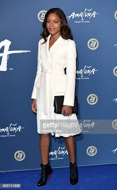 Naomie Harris attends the Red Carpet arrivals for Cirque Du Soleil Amaluna at Royal Albert Hall on January 19 2016 in London England