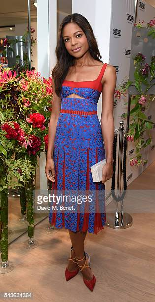 Naomie Harris attends the RIMOWA London concept store VIP launch party on June 29 2016 in London England