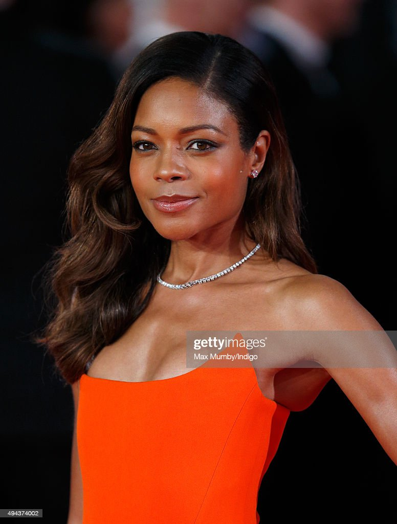 Naomie Harris attends the Royal Film Performance of 'Spectre' at The Royal Albert Hall on October 26, 2015 in London, England.