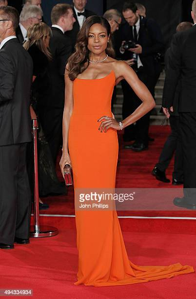 Naomie Harris attends the Royal Film Performance of 'Spectre'at Royal Albert Hall on October 26 2015 in London England