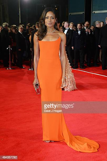 Naomie Harris attends the Royal World Premiere of 'Spectre' at Royal Albert Hall on October 26 2015 in London England