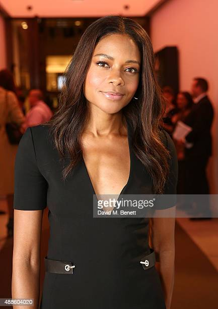 Naomie Harris attends the She Inspires Art charity auction in aid of Women For Women International at Bonhams on September 16 2015 in London England