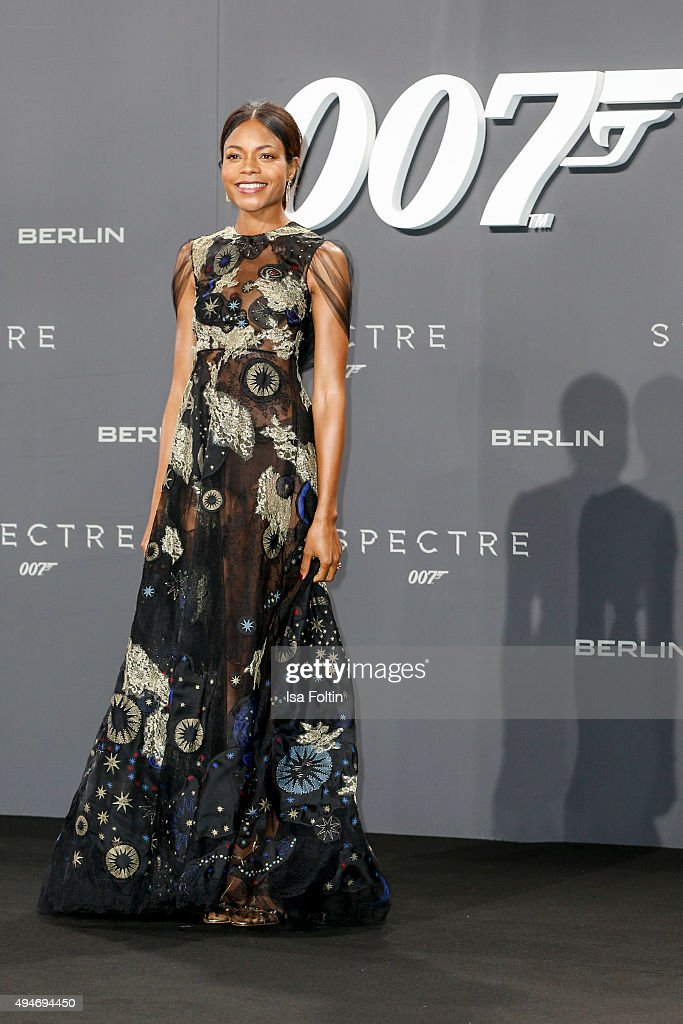 Naomie Harris attends the 'Spectre' German Premiere on October 28, 2015 in Berlin, Germany.