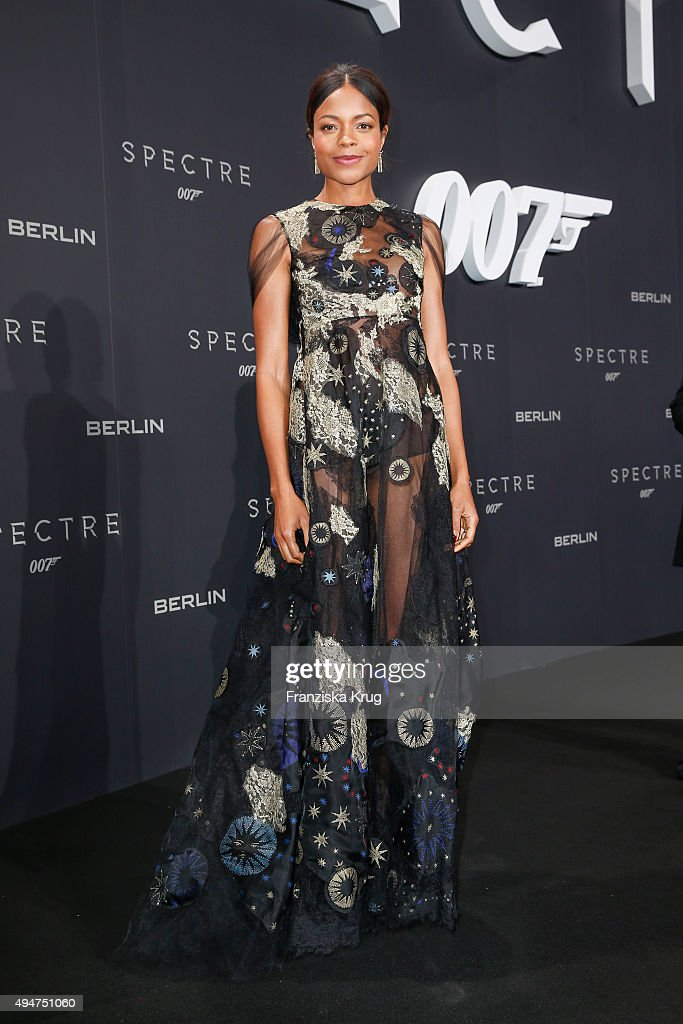 Naomie Harris attends the Spectre' German Premiere on October 28, 2015 in Berlin, Germany.