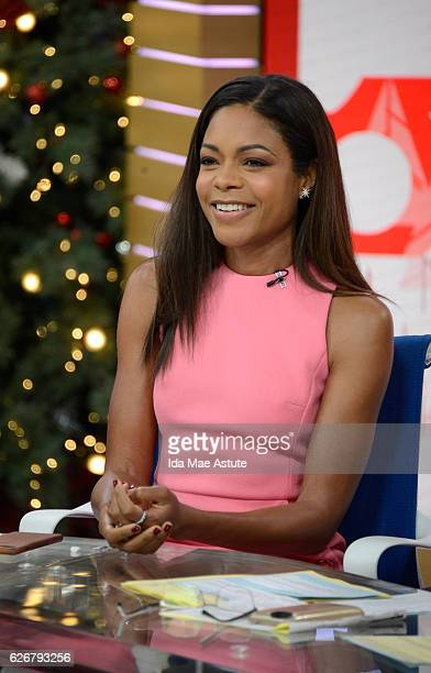 AMERICA Naomie Harris is a guest on Good Morning America 11/29/16 airing on the ABC Television Network NAOMIE