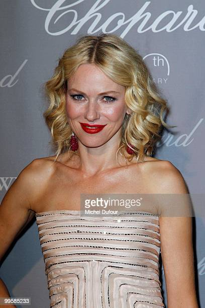 Naomie Watts attends at the Chopard Lounge Party, at Hotel Martinez, during the 63th international film festival, on May 15, 2010 in Cannes, France.