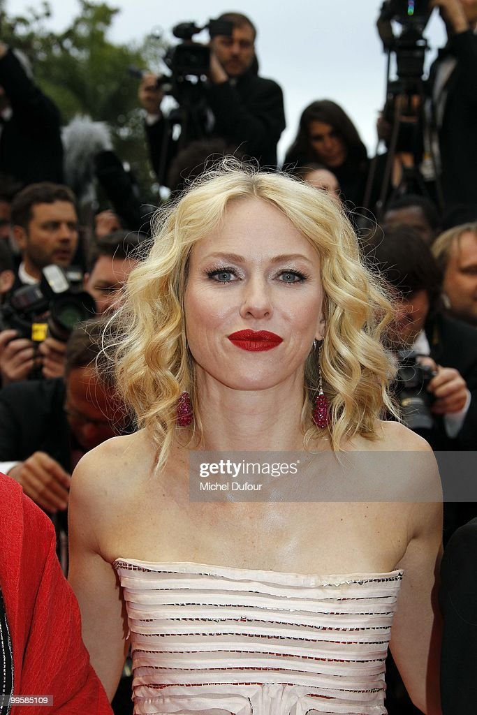 Naomie Watts attends the 'You Will Meet A Tall Dark Stranger' premiere at the Palais des Festivals during the 63rd Annual Cannes Film Festival on May 15, 2010 in Cannes, France. on May 15, 2010 in Cannes, France.