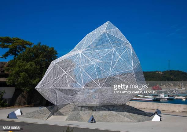 Naoshima pavilion by Sou Fujimoto Seto Inland Sea Naoshima Japan on August 24 2017 in Naoshima Japan