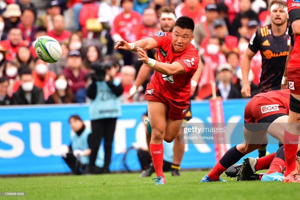 Super Rugby Rd 3 - Sunwolves v Chiefs : ニュース写真