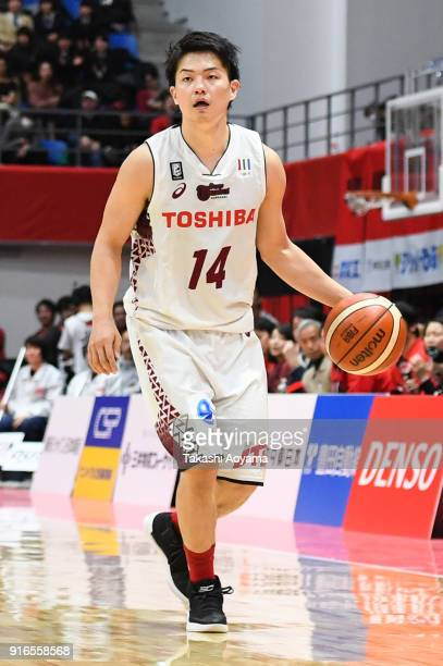 Naoto Tsuji of the Kawasaki Brave Thunders in action during the BLeague match between Alverk Tokyo and Kawasaki Brave Thunders at the Arena Tachikawa...