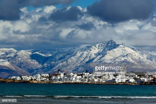 Naoussa, Paros island, Cyclades, Agean sea, Greece
