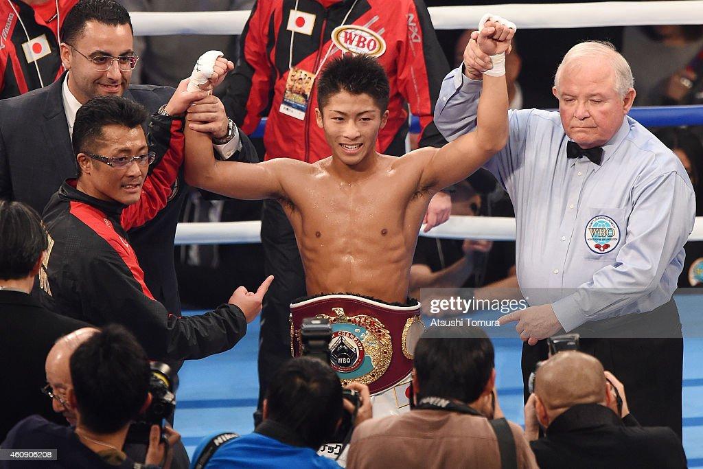 Omar Andres Narvaez v Naoya Inoue - WBO World Super Flyweight Title Bout : ニュース写真