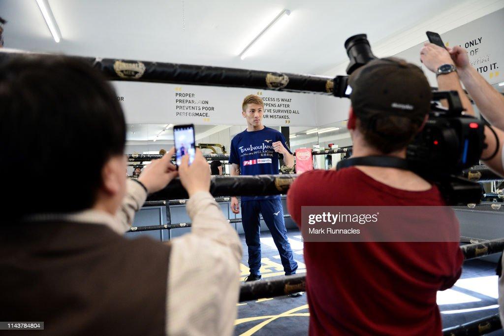 Media Workouts: Muhammad Ali Trophy Semi-Finals - World Boxing Super Series Fight Night : ニュース写真