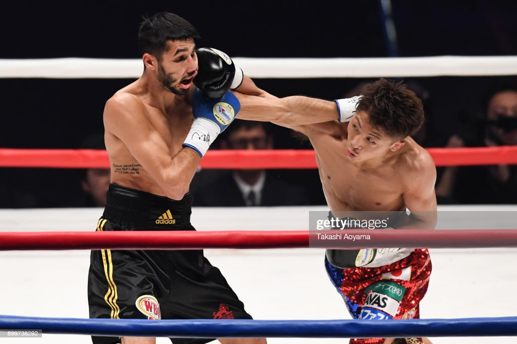 Naoya Inoue v Yoan Boyeaux - WBO Super Flyweight Title Bout : News Photo